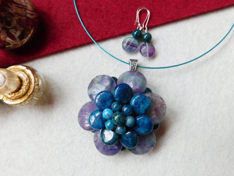 """""""Flori de piatră-Bijoux"""" albumul II-bijuterii artizanale marca Didina Sava - Pagina 5 00125"""
