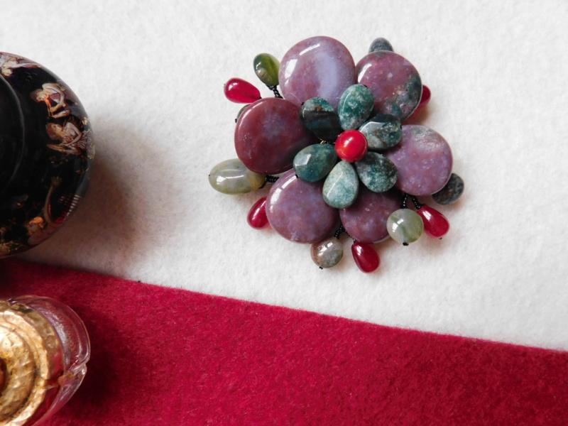 """""""Flori de piatră-Bijoux"""" albumul II-bijuterii artizanale marca Didina Sava - Pagina 5 00126"""