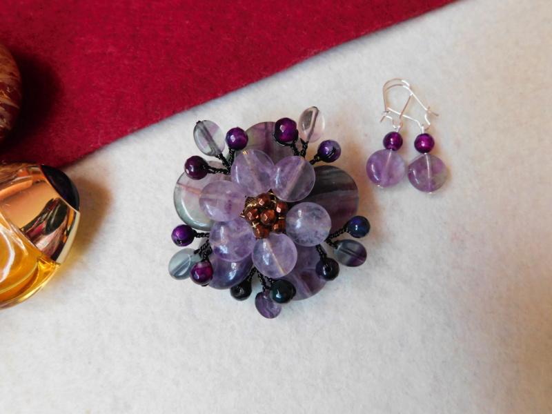 """""""Flori de piatră-Bijoux"""" albumul II-bijuterii artizanale marca Didina Sava - Pagina 2 00132"""