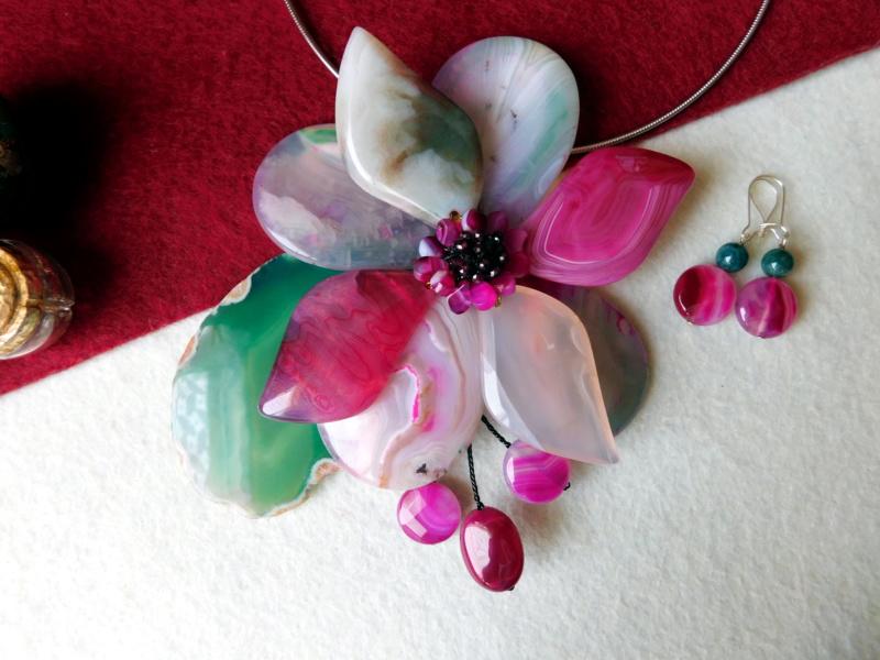 """""""Flori de piatră-Bijoux"""" albumul II-bijuterii artizanale marca Didina Sava - Pagina 2 00136"""