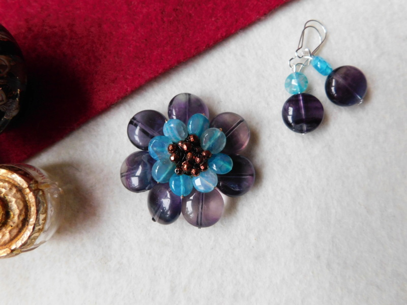"""""""Flori de piatră-Bijoux"""" albumul II-bijuterii artizanale marca Didina Sava - Pagina 2 00137"""