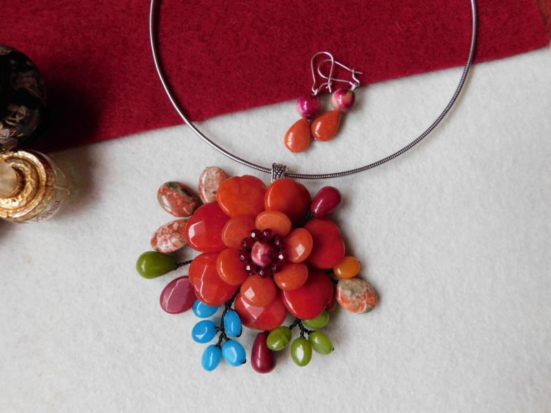 """""""Flori de piatră-Bijoux"""" albumul II-bijuterii artizanale marca Didina Sava - Pagina 3 00217"""