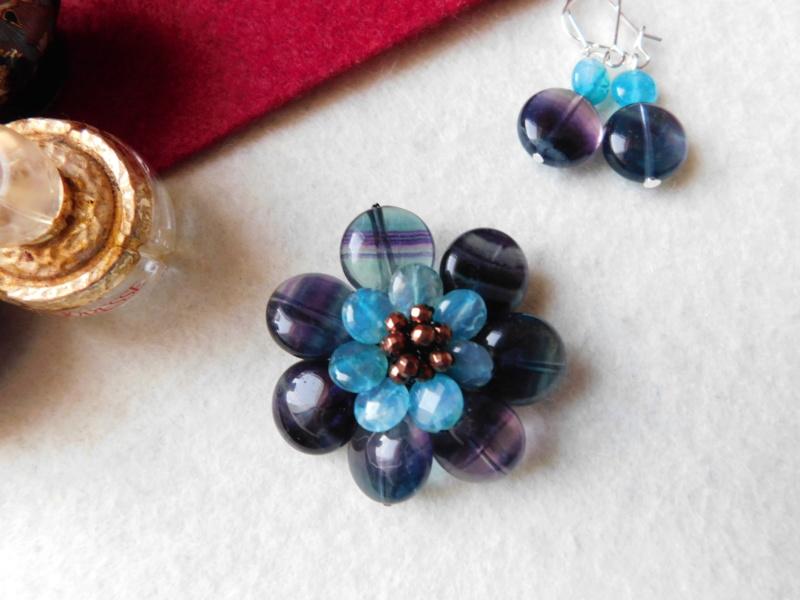 """""""Flori de piatră-Bijoux"""" albumul II-bijuterii artizanale marca Didina Sava - Pagina 2 00227"""