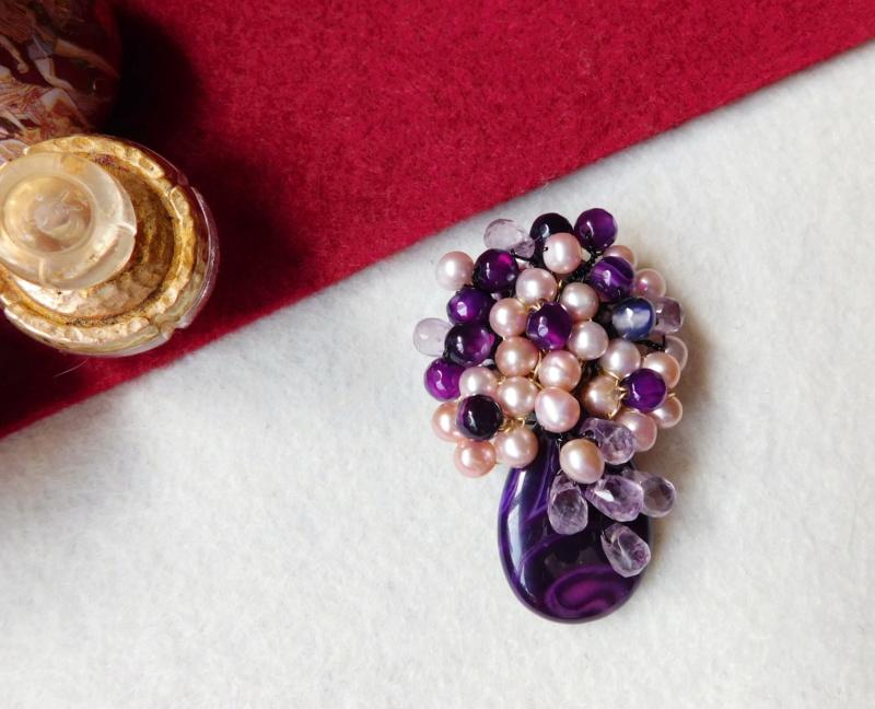 """""""Flori de piatră-Bijoux"""" albumul II-bijuterii artizanale marca Didina Sava - Pagina 3 00318"""