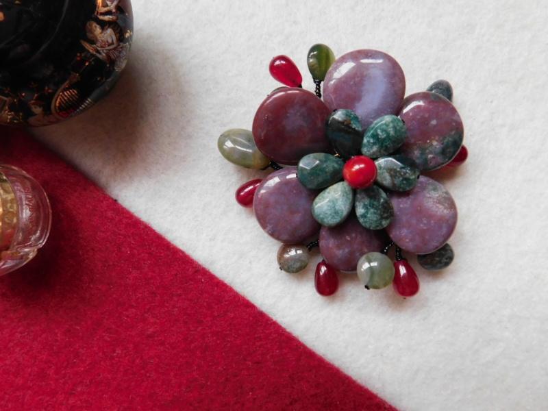 """""""Flori de piatră-Bijoux"""" albumul II-bijuterii artizanale marca Didina Sava - Pagina 5 00322"""