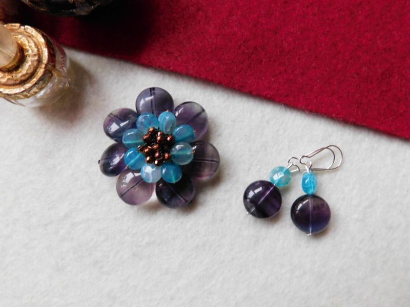 """""""Flori de piatră-Bijoux"""" albumul II-bijuterii artizanale marca Didina Sava - Pagina 2 00339"""