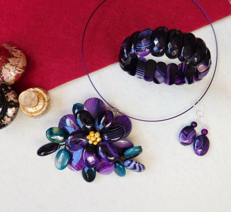 """""""Flori de piatră-Bijoux"""" albumul II-bijuterii artizanale marca Didina Sava - Pagina 3 00412"""
