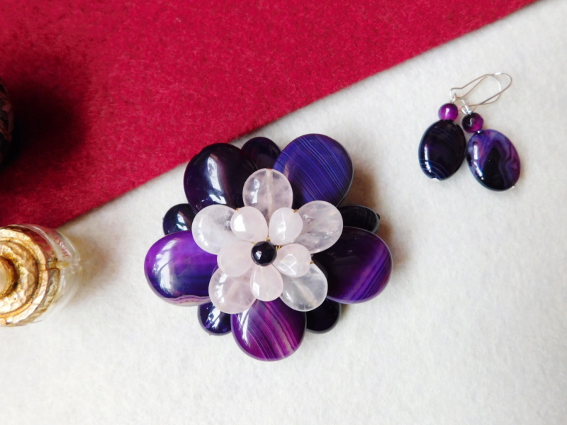 """""""Flori de piatră-Bijoux"""" albumul II-bijuterii artizanale marca Didina Sava - Pagina 5 00416"""