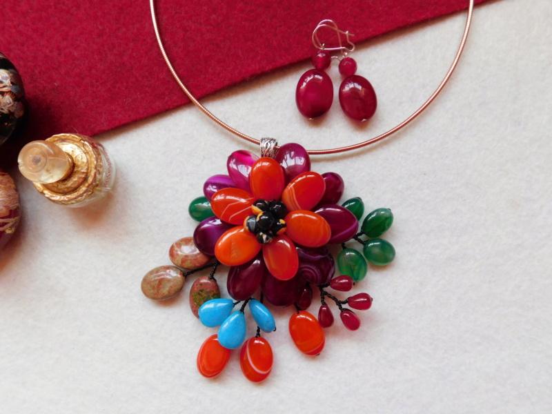 """""""Flori de piatră-Bijoux"""" albumul II-bijuterii artizanale marca Didina Sava - Pagina 5 00417"""
