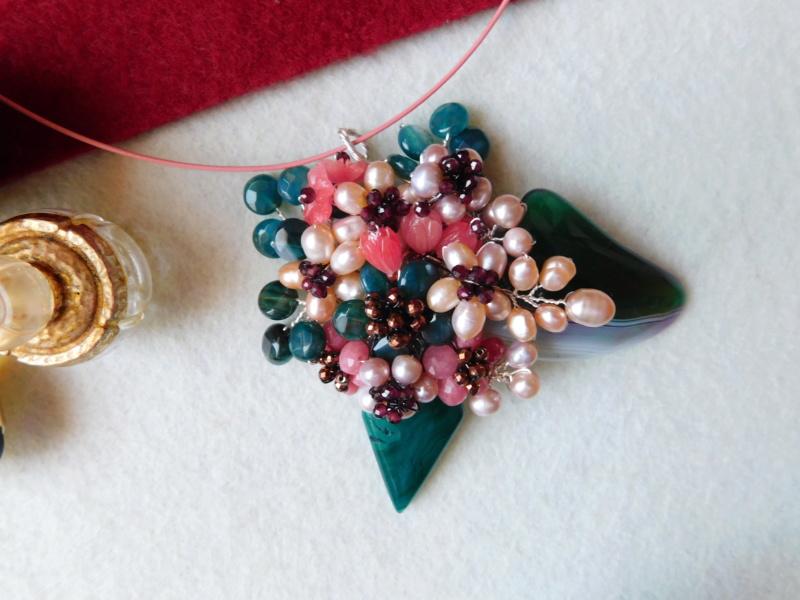 """""""Flori de piatră-Bijoux"""" albumul II-bijuterii artizanale marca Didina Sava - Pagina 2 00436"""