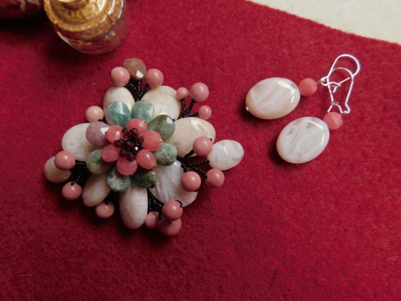 """""""Flori de piatră-Bijoux"""" albumul II-bijuterii artizanale marca Didina Sava 00439"""