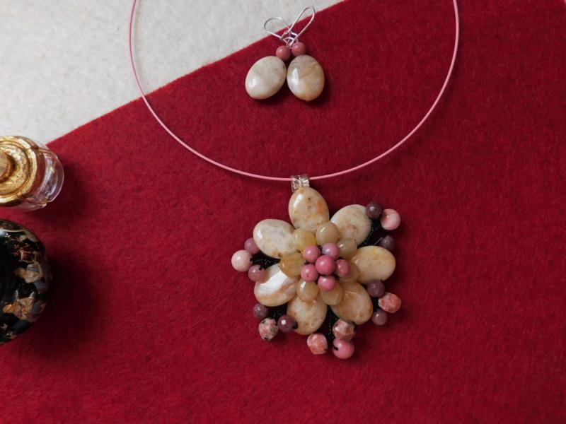 """""""Flori de piatră-Bijoux"""" albumul II-bijuterii artizanale marca Didina Sava - Pagina 8 00511"""