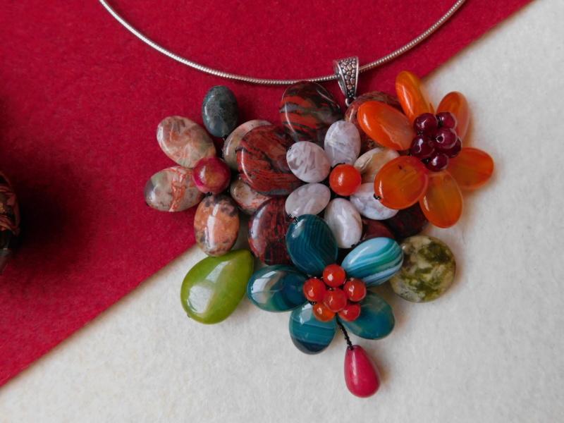 """""""Flori de piatră-Bijoux"""" albumul II-bijuterii artizanale marca Didina Sava - Pagina 7 00514"""