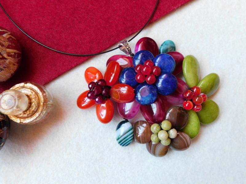 """""""Flori de piatră-Bijoux"""" albumul II-bijuterii artizanale marca Didina Sava - Pagina 4 00516"""