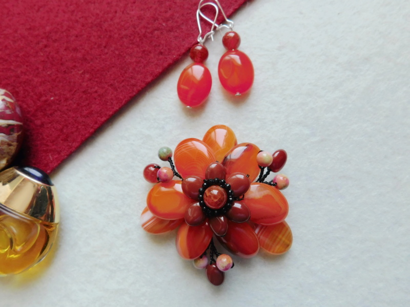 """""""Flori de piatră-Bijoux"""" albumul II-bijuterii artizanale marca Didina Sava - Pagina 2 00545"""