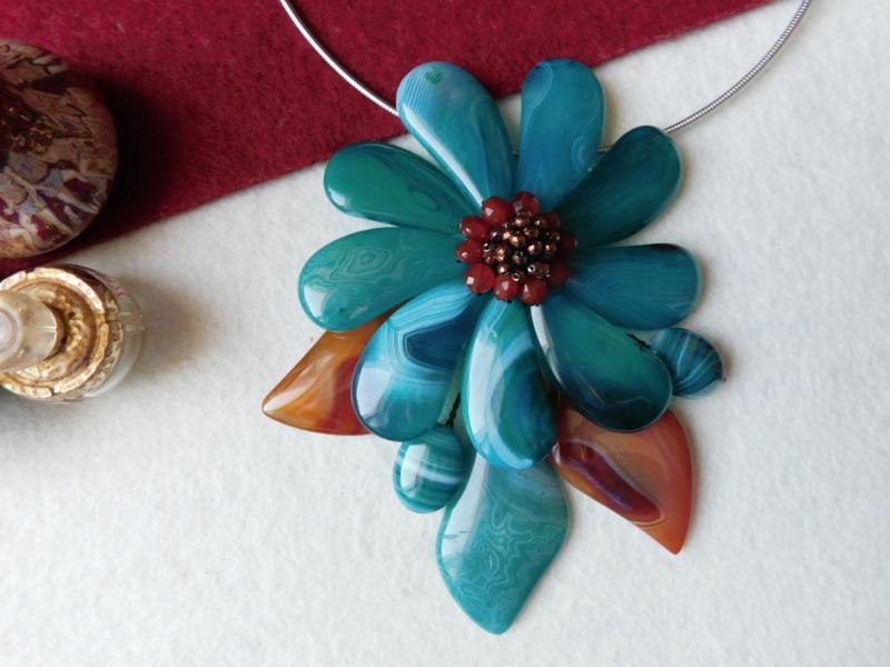 """""""Flori de piatră-Bijoux"""" albumul II-bijuterii artizanale marca Didina Sava - Pagina 2 00546"""