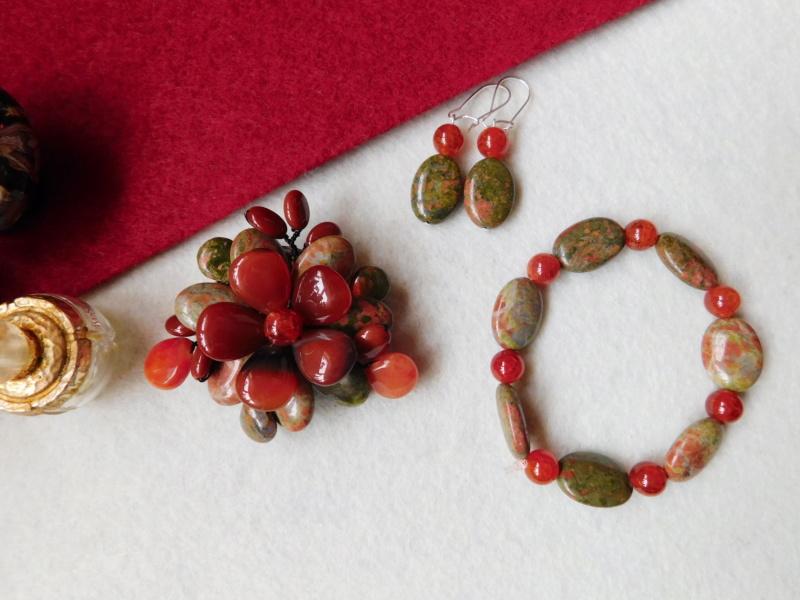 """""""Flori de piatră-Bijoux"""" albumul II-bijuterii artizanale marca Didina Sava - Pagina 5 00623"""