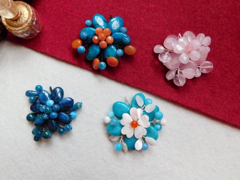 """""""Flori de piatră-Bijoux"""" albumul II-bijuterii artizanale marca Didina Sava - Pagina 5 00627"""