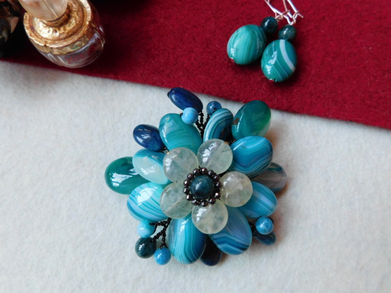 """""""Flori de piatră-Bijoux"""" albumul II-bijuterii artizanale marca Didina Sava - Pagina 5 00628"""