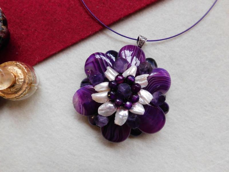 """""""Flori de piatră-Bijoux"""" albumul II-bijuterii artizanale marca Didina Sava - Pagina 5 00630"""