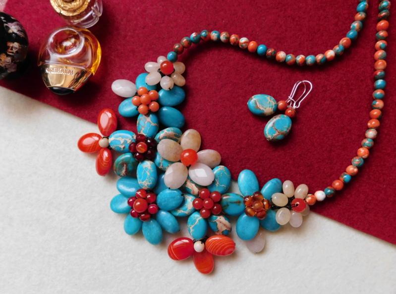 """""""Flori de piatră-Bijoux"""" albumul II-bijuterii artizanale marca Didina Sava - Pagina 8 00713"""