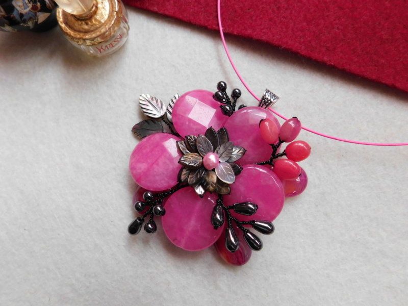 """""""Flori de piatră-Bijoux"""" albumul II-bijuterii artizanale marca Didina Sava - Pagina 5 00724"""