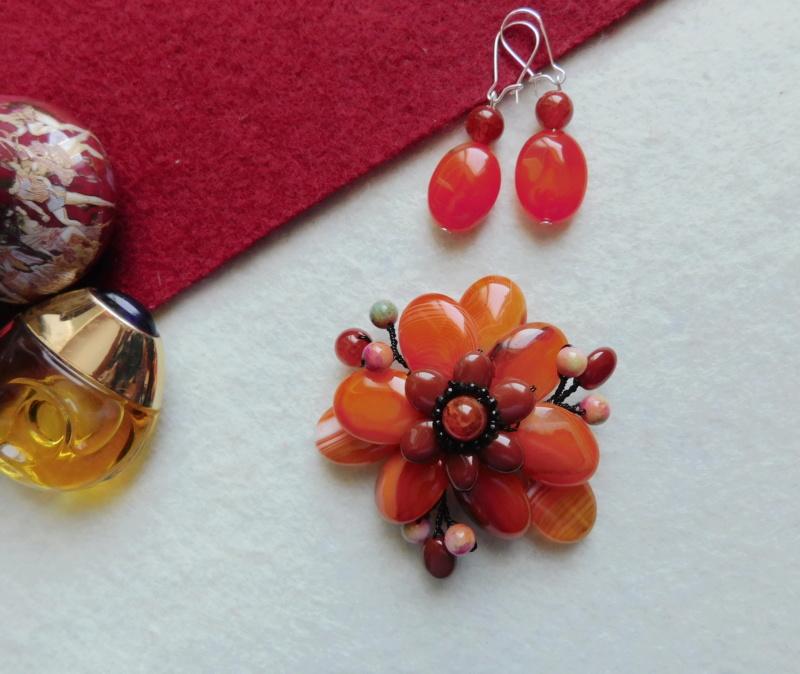 """""""Flori de piatră-Bijoux"""" albumul II-bijuterii artizanale marca Didina Sava - Pagina 2 00736"""