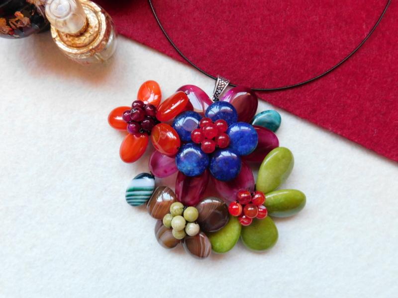 """""""Flori de piatră-Bijoux"""" albumul II-bijuterii artizanale marca Didina Sava - Pagina 4 00814"""