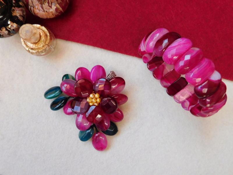 """""""Flori de piatră-Bijoux"""" albumul II-bijuterii artizanale marca Didina Sava - Pagina 3 00815"""