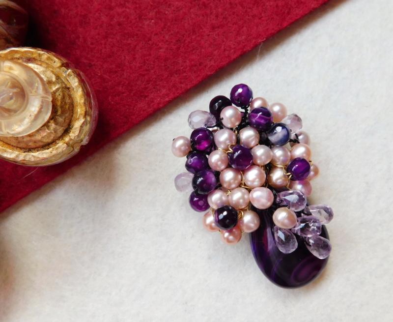 """""""Flori de piatră-Bijoux"""" albumul II-bijuterii artizanale marca Didina Sava - Pagina 3 00816"""