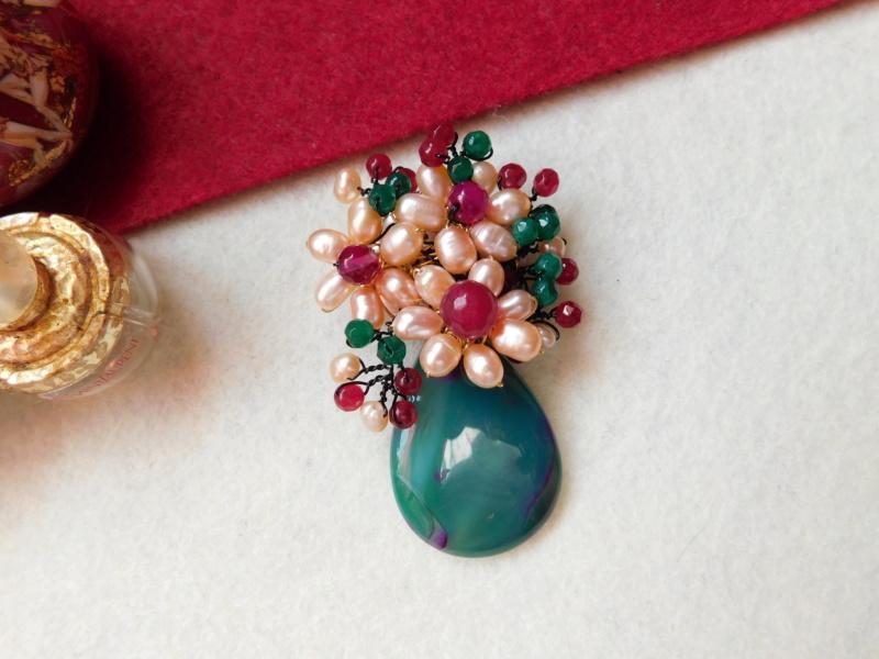 """""""Flori de piatră-Bijoux"""" albumul II-bijuterii artizanale marca Didina Sava - Pagina 3 00817"""