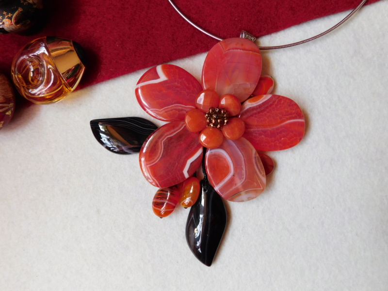 """""""Flori de piatră-Bijoux"""" albumul II-bijuterii artizanale marca Didina Sava - Pagina 3 00840"""