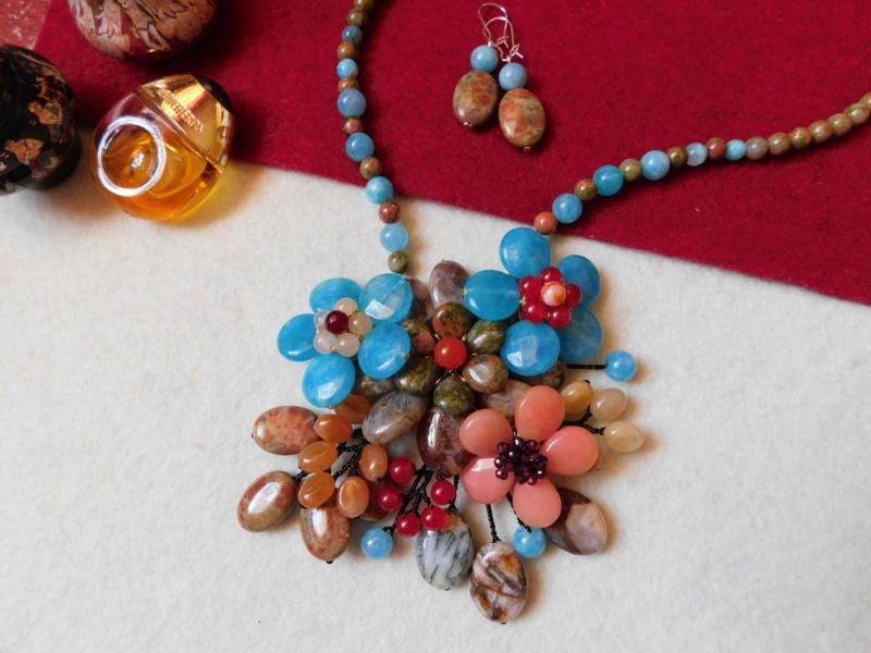 """""""Flori de piatră-Bijoux"""" albumul II-bijuterii artizanale marca Didina Sava - Pagina 3 00842"""