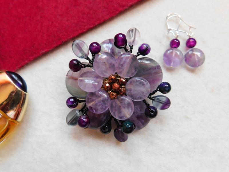 """""""Flori de piatră-Bijoux"""" albumul II-bijuterii artizanale marca Didina Sava - Pagina 3 00844"""