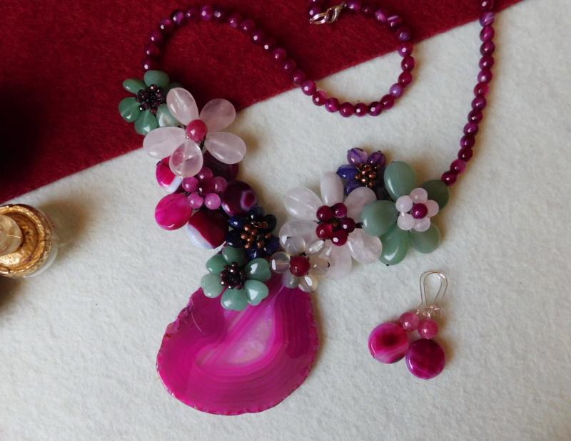 """""""Flori de piatră-Bijoux"""" albumul II-bijuterii artizanale marca Didina Sava - Pagina 2 00852"""