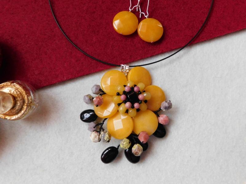 """""""Flori de piatră-Bijoux"""" albumul II-bijuterii artizanale marca Didina Sava - Pagina 8 00911"""