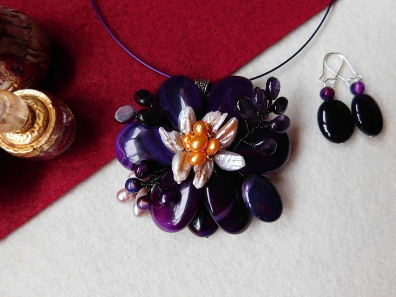 """""""Flori de piatră-Bijoux"""" albumul II-bijuterii artizanale marca Didina Sava - Pagina 4 00916"""