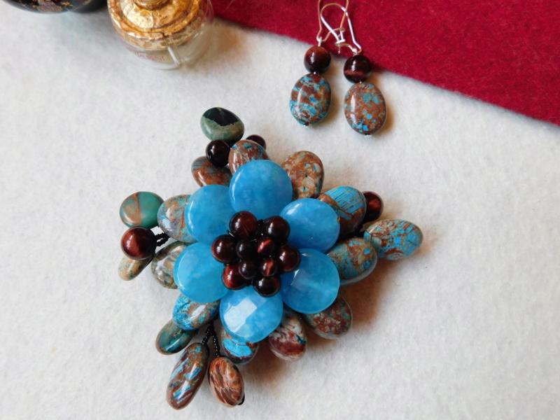 """""""Flori de piatră-Bijoux"""" albumul II-bijuterii artizanale marca Didina Sava - Pagina 3 00918"""