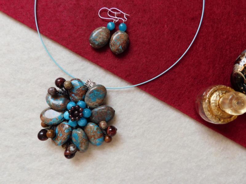 """""""Flori de piatră-Bijoux"""" albumul II-bijuterii artizanale marca Didina Sava - Pagina 8 01012"""