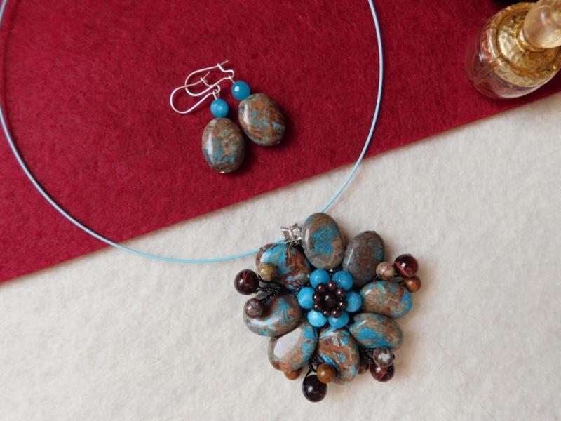 """""""Flori de piatră-Bijoux"""" albumul II-bijuterii artizanale marca Didina Sava - Pagina 8 01212"""