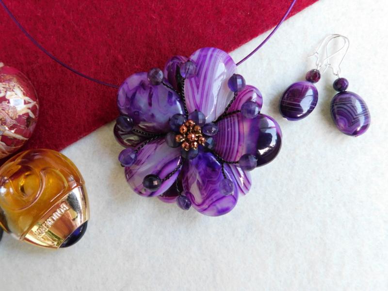 """""""Flori de piatră-Bijoux"""" albumul II-bijuterii artizanale marca Didina Sava - Pagina 3 01228"""