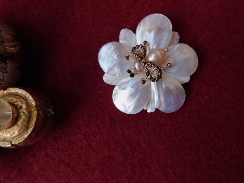 """""""Flori de piatră-Bijoux"""" albumul II-bijuterii artizanale marca Didina Sava 01238"""