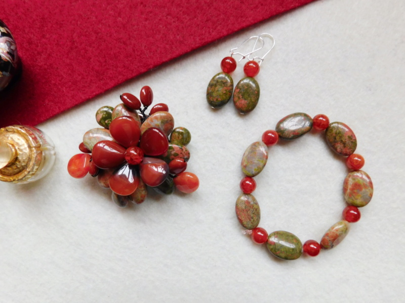 """""""Flori de piatră-Bijoux"""" albumul II-bijuterii artizanale marca Didina Sava - Pagina 5 01417"""