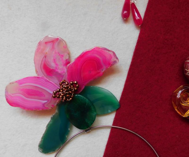 """""""Flori de piatră-Bijoux"""" albumul II-bijuterii artizanale marca Didina Sava - Pagina 3 01428"""