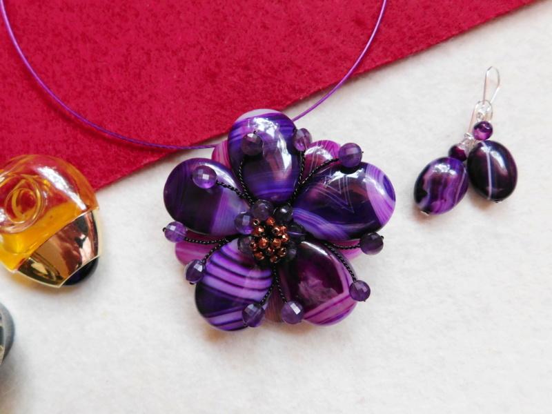 """""""Flori de piatră-Bijoux"""" albumul II-bijuterii artizanale marca Didina Sava - Pagina 3 01622"""