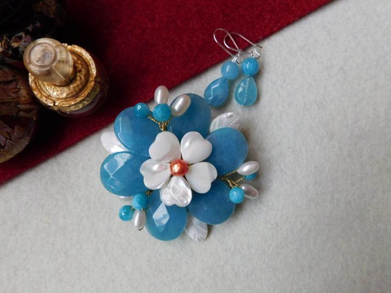 """""""Flori de piatră-Bijoux"""" albumul II-bijuterii artizanale marca Didina Sava - Pagina 5 02515"""