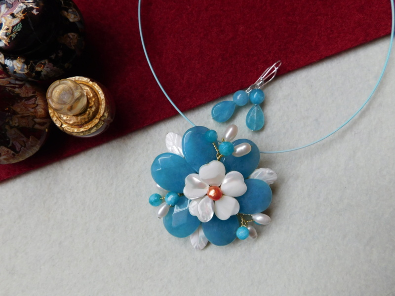 """""""Flori de piatră-Bijoux"""" albumul II-bijuterii artizanale marca Didina Sava - Pagina 5 02711"""
