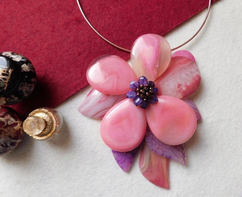 """""""Flori de piatră-Bijoux"""" albumul II-bijuterii artizanale marca Didina Sava - Pagina 2 03517"""