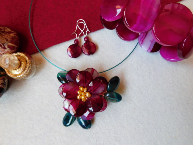 """""""Flori de piatră-Bijoux"""" albumul II-bijuterii artizanale marca Didina Sava - Pagina 3 03711"""