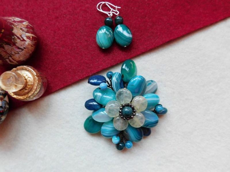 """""""Flori de piatră-Bijoux"""" albumul II-bijuterii artizanale marca Didina Sava - Pagina 5 Clip10"""